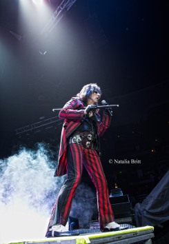 Alice Cooper, Honda Center, December, 2015