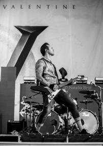 Matt Tuck - Bullet For My Valentine, Las Vegas, 2015