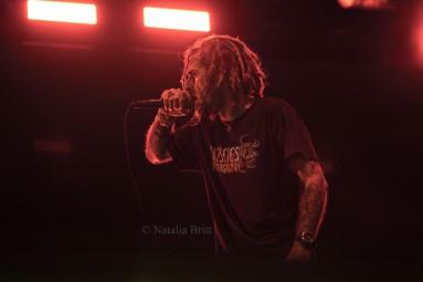 Randy Blythe, Lamb Of God, Las Vegas, NV, 2015