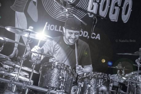 Dave Lombardo - Metal Allegiance, Los Angeles, 2016