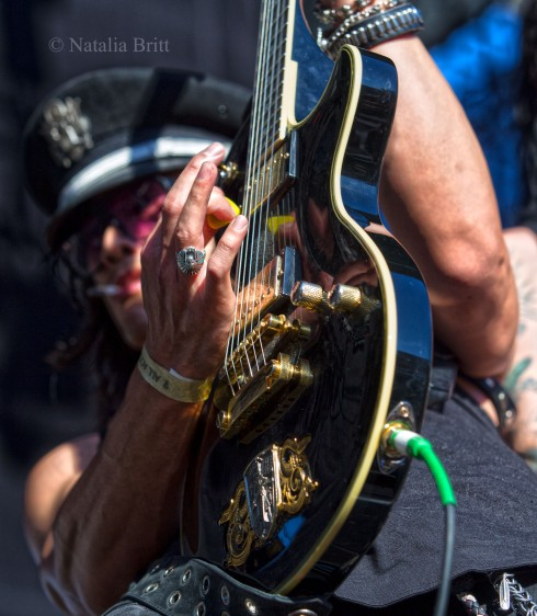 Michael Grant, L.A. Guns, Irvine, CA, 2015